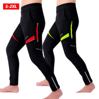 Men Autumn Winter Cycling Warmer Pants Bike Bicycle Windproof Trousers Riding