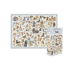 Wrendale 1000 pc jigsaw puzzle A dog's life
