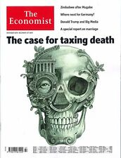 The Economist Magazin, Heft 47/2017: The case for taxing death   +++ wie neu +++
