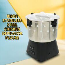 Steel Small Chicken Dove Feather Plucking Machine Poultry Plucker Bird Depilator