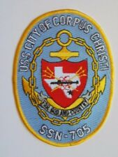 PATCH US NAVY USN SSN-705 USS CITY OF CORPUS CHRISTI SUBMARINE / SOUS-MARINS