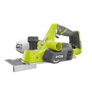 Ryobi Planer Tool Only Cordless Reversible Double Edged Blades ONE+ 18V 3-1/4 in