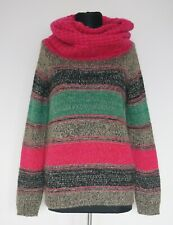 Kenzo Knitted Multi Colour Jumper Sweater, Size:S