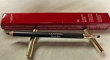 Clarins Crayon Khol Long-Lasting Eye Pencil With Brush ~04 Platinum