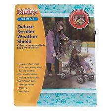 NUBY Deluxe Stroller Weather Shield, Clear