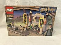 LEGO THE DUELING CLUB 4733 HARRY POTTER RETIRED RARE ORIGINAL 2002 NEW SEALED