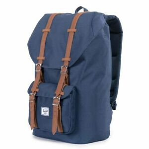 NWT Herschel Supply Company Little America Backpack Navy Blue