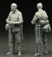 1/35 German ww2 Summer Period Infantry Soldier Scale Resin Figure