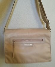 Longchamp Le Pliage Neo Messenger Crossbody Bag in Beige Retail $295