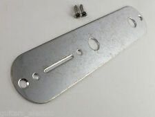 GOTOH Factory Aged CHROME Control Plate for TELECASTER Relic Tele Guitar