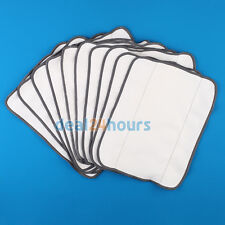 10 Dry sweeping mopping cloths for iRobot Braava 380t 320 Mint 4200 5200 Robotic