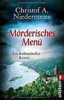 Mörderisches Menü: Ein kulinarischer Krimi (Ein Jo-Weidi... | Buch | Zustand gut