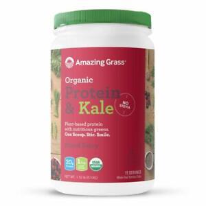 Amazing Grass Vegan Organic Protein & Kale Powder Mixed Berry 15 Servings