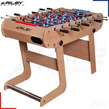 Riley Azteca 4FT Deluxe Football Games Table - Vertical Folding