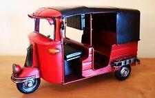 TUK TUK Thailand Motorroller Blechauto Blech Modell rot
