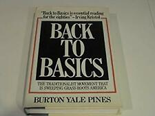 Back to Basics by Pines, Burton Yale-ExLibrary