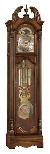 Ridgeway Archdale Grandfather Clock LOW COST GUARANTY R2564