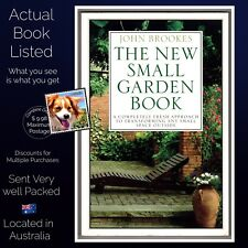 The New Small Garden Book John Brooke's Paperback Large Format 1995 Ed