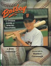 SAN FRANCISCO GIANTS BATBOY, 1996 BOOK (BARRY BONDS, WILLIE MAYS, DUSTY BAKER +