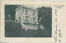 CARTOLINA d'Epoca VERBANIA provincia : Baveno 1906
