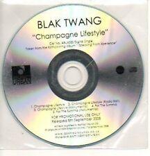 (880J) Blak Twang, Champagne Lifestyle - DJ CD