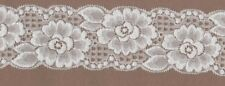 Cream Stretch Lace Trimming 5mts 5.5cm Wide