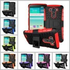 LG G3 Heavy Duty ShockProof Armor Phone Case Cover with Stand