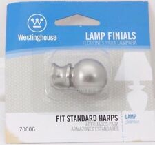 Lamp Finial Brushed Nickel Finish #70006  Westinghouse Lighting Corp