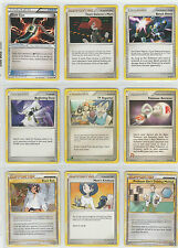 9 Pokemon Card Mix Trainer Set Beginning Door TV Reporter Pokemon Retriever more