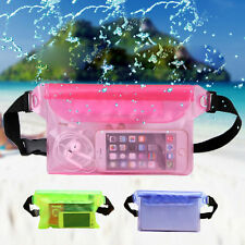 Waterproof Bag Underwater Pouch Waist Pack Swimming Dry Case For Cell Phone FS