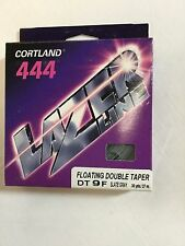 Cortland 444 Lazer Line Floating Double Taper Dt9F Fly Line - Msrp $49.00