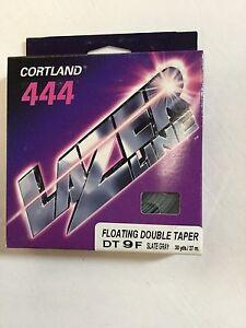CORTLAND 444 LAZER LINE FLOATING DOUBLE TAPER DT9F FLY LINE - MSRP $49.00