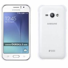 Téléphones mobiles blancs Samsung Galaxy J, 4 Go