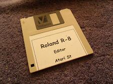 Roland r-8 editor para Atari ST