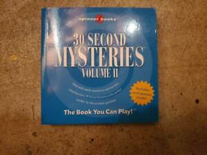 30 Second Mysteries Vol. 2 by Bob Moog (2006, Paperback)