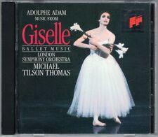 Michael Tilson THOMAS: Adolphe ADAM GISELLE Ballet CD London Symphony Orchestra