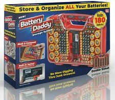 Battery Daddy, 180 Battery Organizer and Storage Case with Tester as seen on TV