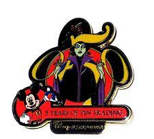 LE Disney Pin✿Sleeping Beauty Evil Villain Maleficent Mickey Trading Anniversary
