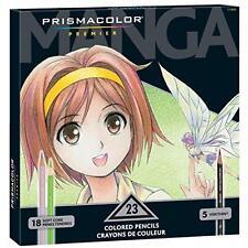 Prismacolor Premier Colored Pencils, Manga Colors, 23-Count New