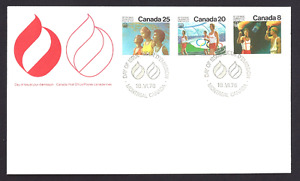 Canada  # 681- 683 Combo  OLYMPIC CEREMONIES   Brand New 1976 Unaddressed Issue