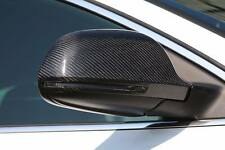 * REAL CARBONE * AUDI a4/s4 (b8) 09-15 Carbone Fibre Wing Mirror Replacement covers
