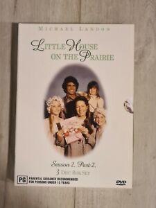 Little House on the Prairie Season 2 Part 2 - 3 Disc DVD - Region 4 - FAST POST