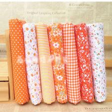 Series 7 pieces Assorted Pre-Cut Quarter Bundle Charm Cotton Quilt Fabric