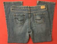"Levi Strauss Signature Low Rise Boot Cut Stretch Blue Jeans Size 18M (38x31"")"