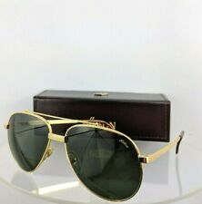 Brand New Authentic HILTON LONDON Sunglasses CLUB 8 C 2 54mm 24KT Gold Frame