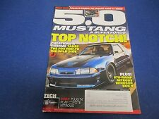 5.0 Mustang & Super Fords Magazine, September 2013, Top Notch! 678-RWHP Nitrous