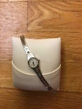 Helbros women's watch, quartz, silver bracelet band, new