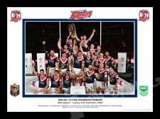 2018 Sydney Roosters Premiers Celebration Photo Framed