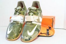 Nike Romaleos 3 Mens Weightlifting Shoes Olive Green Camo (852933-300) Sz 13 US