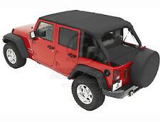 "Bikini header version: ""Safari"" ,couleur: Black Diamond, Jeep Wrangler JK Unlimi"